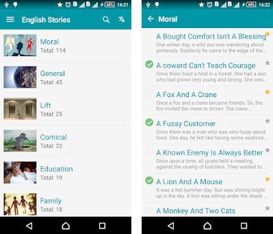 English story & English Reading - Awabe 1 0 8 apk download