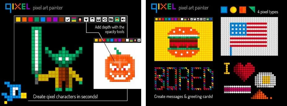 Qixel : Pixel Art Maker Free 1 2 3 apk download for Android