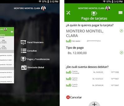 Banca Digital BOD preview screenshot