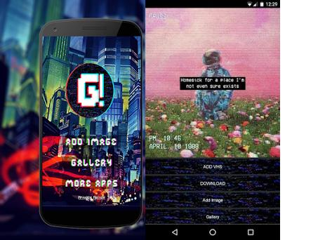 Vhs Camera Glitch Retro and Trippy Effects 1 0 0 apk download for