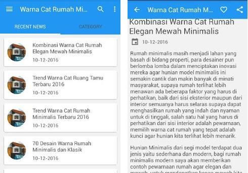 Warna Cat Rumah Minimalis 2 4 0 Apk Download For Android Com