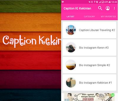 Caption Ig Kekinian Keren On Windows Pc Download Free 3 0 Com