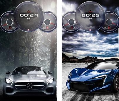 Speedometer Cars Clock Live Wallpaper 1 11 Apk Download For