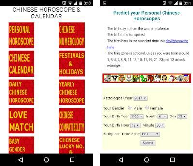 Horoscope Calendar.Chinese Horoscope Calendar 1 8 Apk Download For Android Com