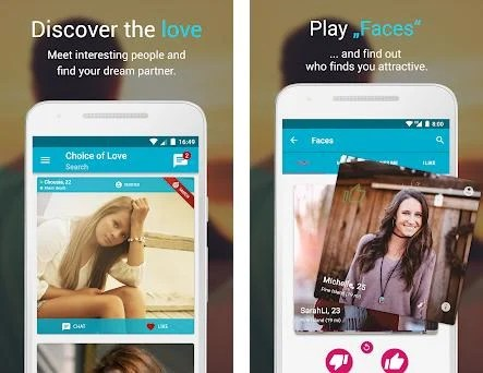 Free Dating & Flirt Chat - Choice of Love preview screenshot