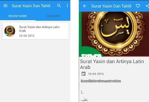 Surat Yasin Arab Latin Artinya 120 Apk Download For