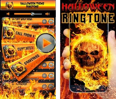 halloween theme ringtone preview screenshot
