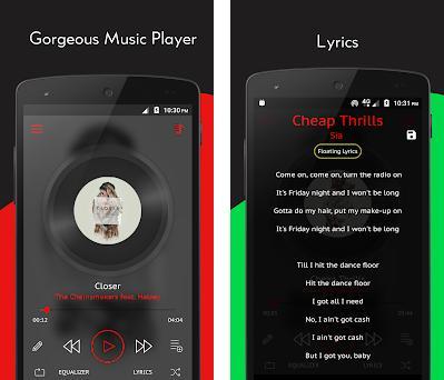 Crimson Music Player - MP3, Lyrics, Playlist 3 9 9 apk