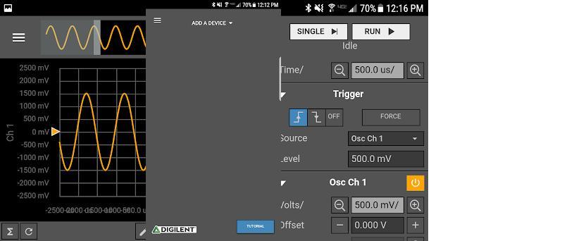 WaveForms Live 1 3 4 apk download for Android • com digilent