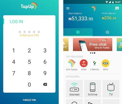 TopUp Africa 3 1 12 apk download for Android • com ex ipst