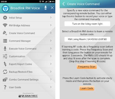 Broadlink RM Voice Lite 1 8 apk download for Android • com