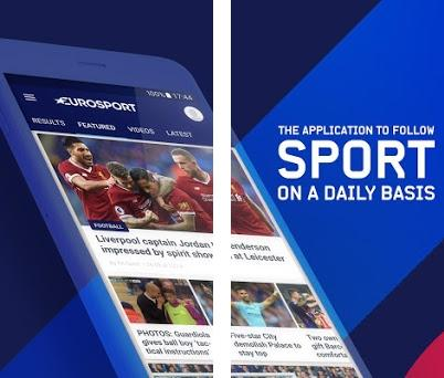 Eurosport: Sports News, Results & Scores preview screenshot
