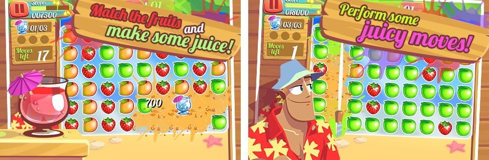 Juice Paradise - A Very Refreshing Arcade Puzzle preview screenshot