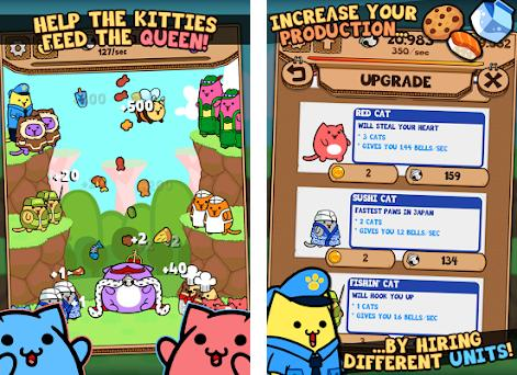Kitty Cat Clicker - Hungry Cat Feeding Game preview screenshot