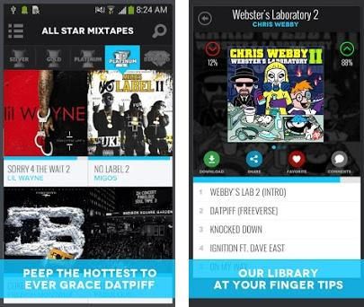 DatPiff - Mixtapes & Music 4 7 8 apk download for Android