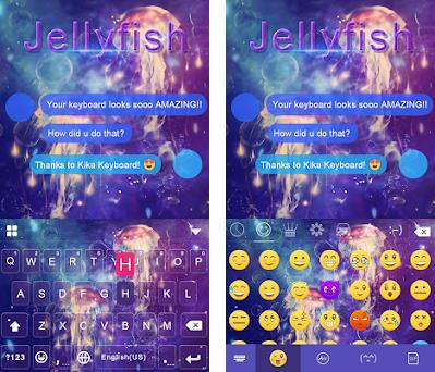 Jellyfish Kika Keyboard Theme 17 0 apk download for Android