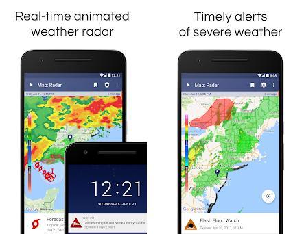 NOAA Weather Radar Live & Alerts 1 26 apk download for Android • com