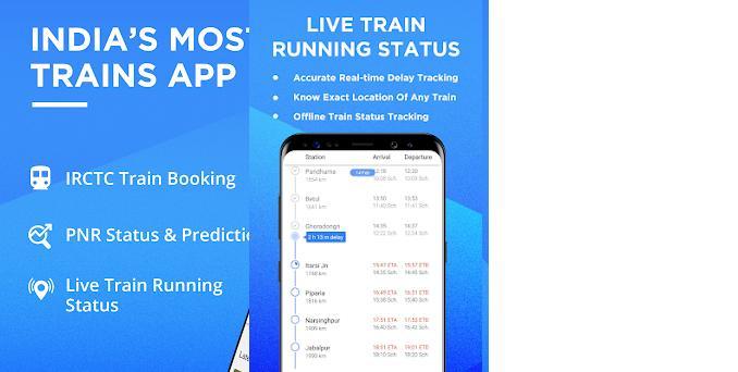 IRCTC Train PNR Status, NTES Rail Running Status 4 3 8 2 apk