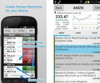 Stock spy app