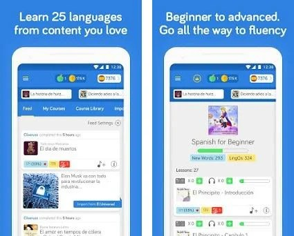 Learn Languages LingQ: Read, Listen,SRS Vocabulary 4 8 5 apk