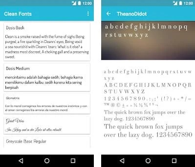 Clean Fonts for FlipFont 1 6 apk download for Android • com monotype