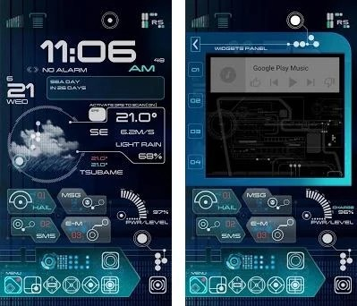 ✦ TREK ✦ Total Launcher Theme 12 apk download for Android