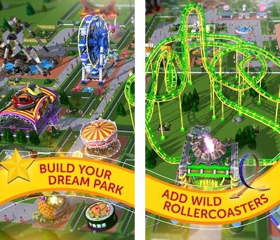 RollerCoaster Tycoon Touch - Build your Theme Park 2 9 0 Apk and OBB