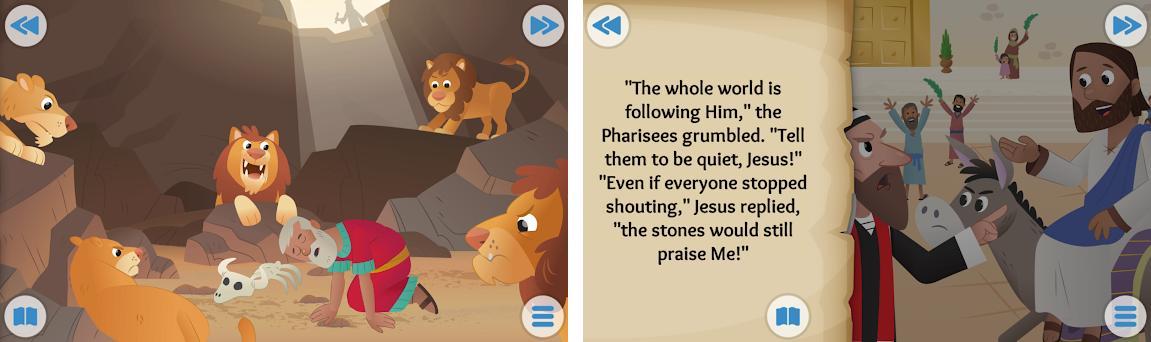 Biblia App para Niños: Historias Bíblicas Animadas Capturas de pantalla