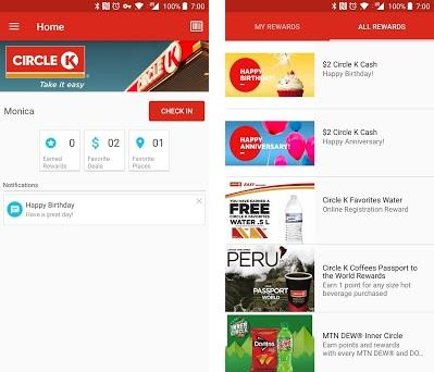 circle k preview screenshot - Www Circlek Com Rewards Card Registration
