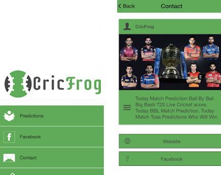cricfrog 1 0 apk download for Android • com mobimaticbuilder