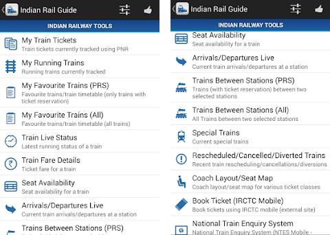 Indian Rail Guide 2 33 apk download for Android • com