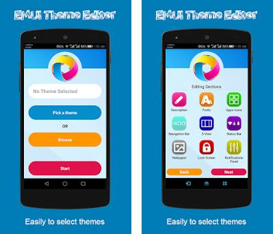 Theme Editor For EMUI 1 15 0 Apk and OBB Data download for
