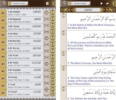 Al Quran English Translation + Audio & Read kuran 3 3 apk download