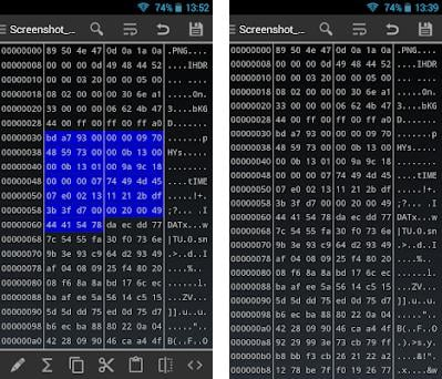 HEX Editor 2 7 6 apk download for Android • com myprog hexedit