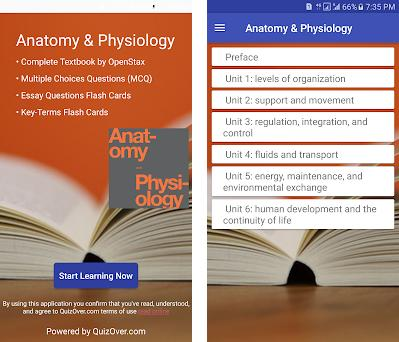 Anatomy & Physiology Textbook , MCQ & Test Bank 2 1 1 apk download