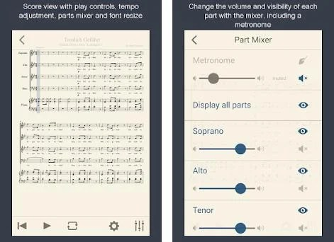 MuseScore: view and play sheet music 2 4 2 apk download for