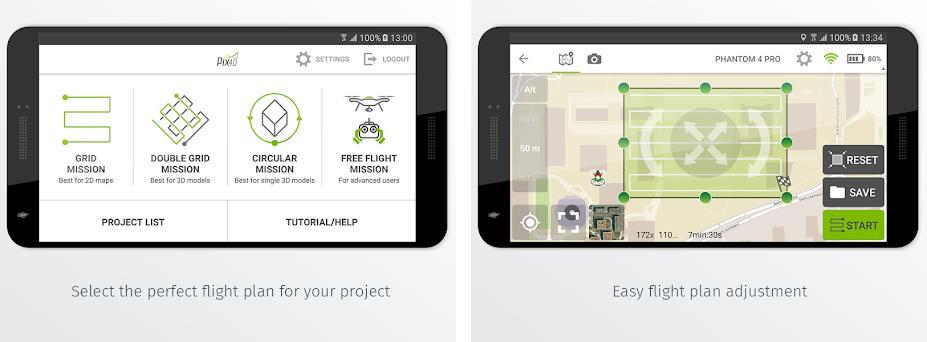 Pix4Dcapture 4 5 0 apk download for Android • com pix4d