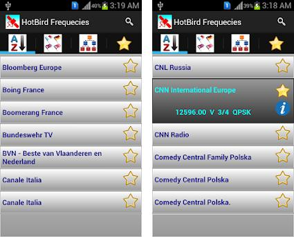 HotBird Channels Frequencies 1 2 apk download for Android