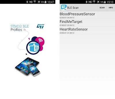 ST BLE Profile 1 6 0 apk download for Android • com stm