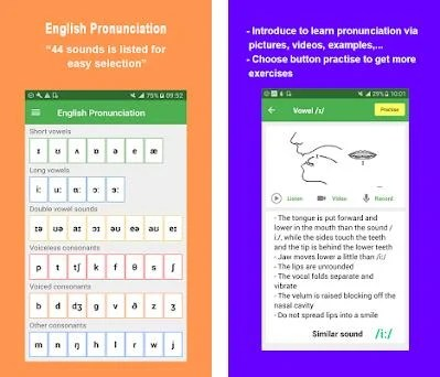 English Pronunciation 6 1 2 Apk and OBB Data download for