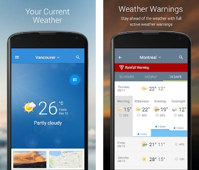 The Weather Network: Local Forecasts & Radar Maps 6 9 8 4268
