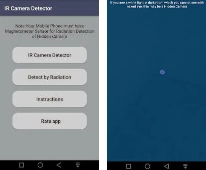 Hidden IR Camera Detector 1 0 4 apk download for Android • com