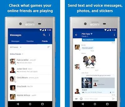 PlayStation Messages - Check your online friends 18 09
