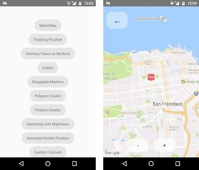 React Native Maps Example 1 0 1 apk download for Android