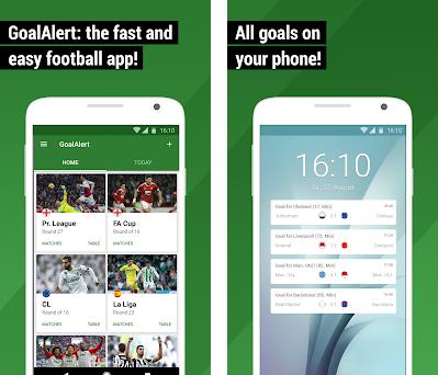 GoalAlert - Football Scores preview screenshot