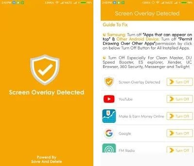 Screen Overlay Detected 1 0 apk download for Android • com