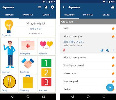 Learn Japanese Phrases | Japanese Translator 13 7 0 apk