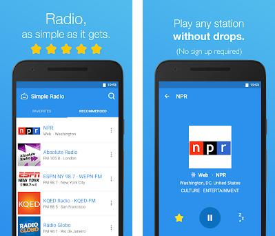 Simple Radio - Free Live FM AM Radio 2 6 2 apk download for