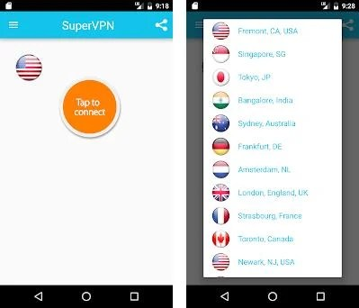Super VPN - Best Free Proxy 6 5 apk download for Android • com