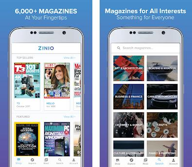 ZINIO - Magazine Newsstand 4 22 0 apk download for Android • com